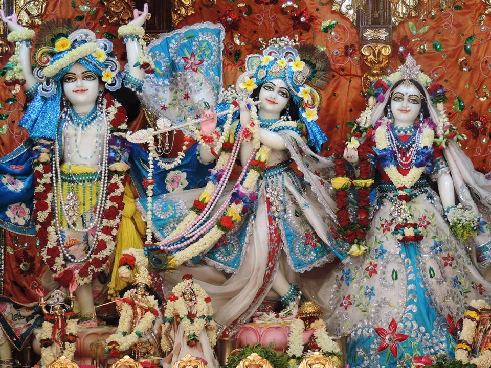 ISKCON Bangalore Deity Darshan 30 May 2016 (1)