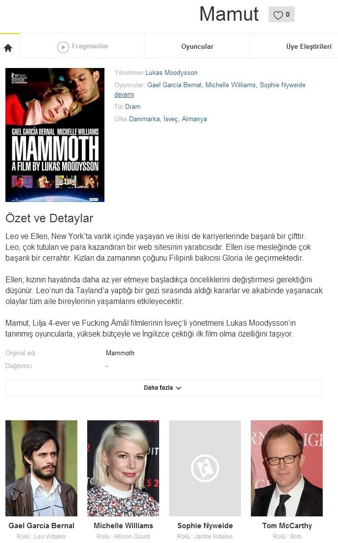 Mamut 2009 - 1080p 720p 480p - Türkçe Dublaj Tek Link indir