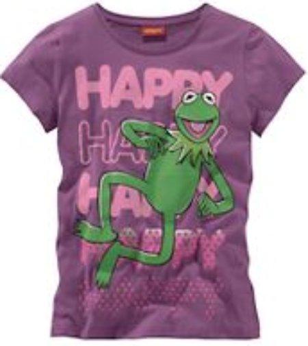 Camiseta de la rana Gustavo que llevo puesta hoy. ¡¡¡Es una de mis favoritas!!! Así que, si ves esta camiseta hoy en Ourense, pueda que esa sea yo...