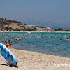 Плажа Ливрохио, Ситония. На снимката изглежда пренаселено, но реално не се усещаше така.
