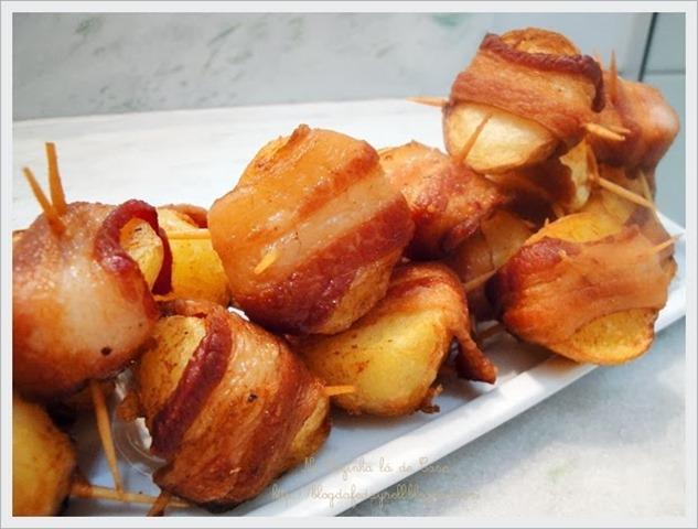 batatas ao bacon
