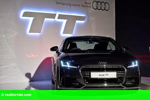 Hình 1: Audi Malaysia ra mắt mẫu xe TT Coupe thế hệ 3 với nhiều cải tiến