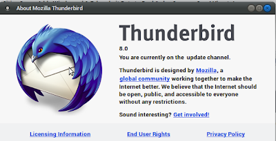 Set Up Unifi email to Thunderbird 8.0