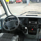het dashboard van het marcopolo busje van south west tours busje 21