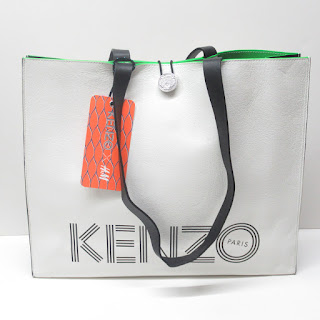 Kenzo X H&M NEW Large Leather Tote