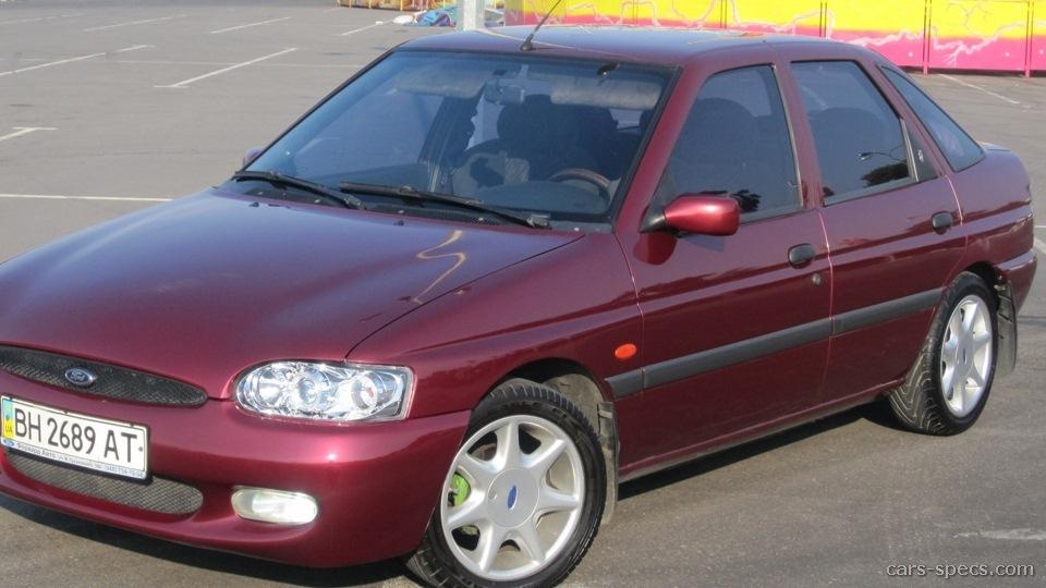 Ford Escort 1600 spec