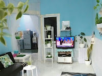 Iinterior Desain Ruang Keluarga Menyatu Dengan Ruang Makan
