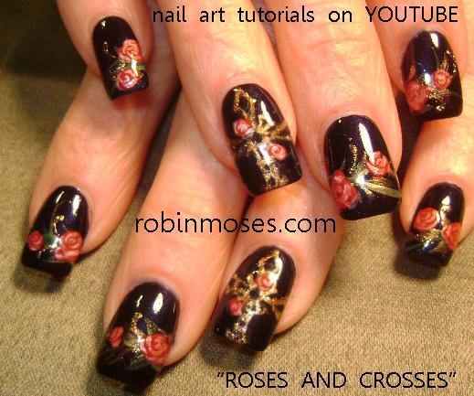 Nail Art By Robin Moses Diva Nails Metal Nails Nail Art Pink