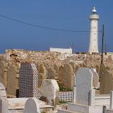 Visita Cementerio As-Shuhada, en Rabat (Marruecos), 2003-Febrero-22)