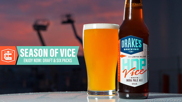 Drake's Hop Vice White IPA Returns