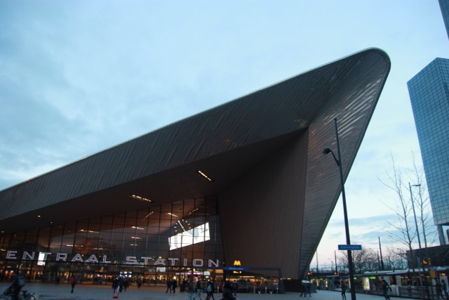 The Centraal Station of Rotterdam