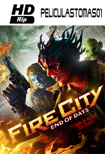 Fire City: End of Days (2015) HDRip