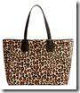 Karen Millen Leopard Print Tote