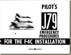F-4C Pilot's J-79 Emergency Instructions
