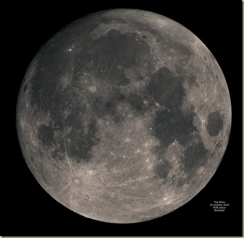 Moon 26 October 2015 RGB Colour Mosaic JPEG