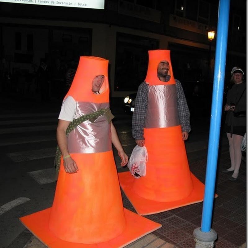 Ideas disfraz de cono de carretera