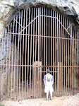 The closed St. Mary's Tunnel - it was a mining road tunnel