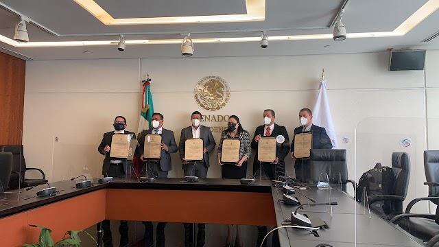 Rinden protesta, integrantes de la Comisión que elegirá al Comité de Participación Ciudadana del SNA