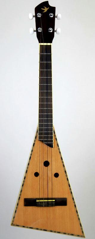 Skylark Paddle triangle Jumbo Tenor Ukulele