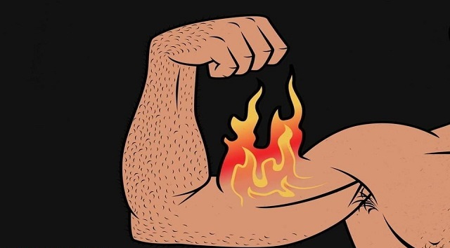 Are you supposed to feel a burn when working out?