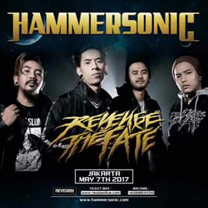 Revenge The Fate Hadir Kembali Di Line Up Hammersonic Fest 2017