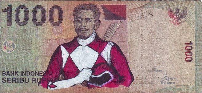 uang coretan seribu