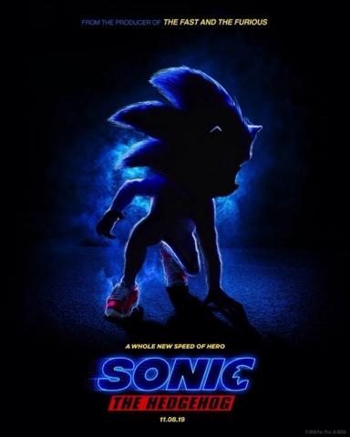 """Filme novo do """"Sonic"""" tem data de lançamento anunciada"""