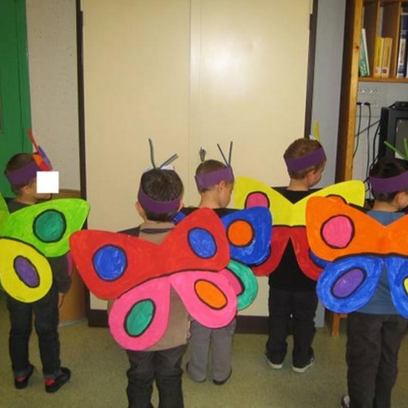 disfraces para colegios de Mariposa
