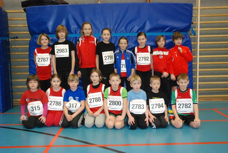 Gruppenfoto der Leichtathleten des TSV Uetersen