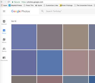 google chrome black squares