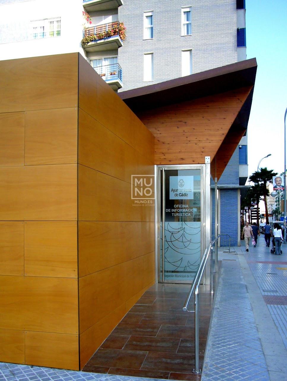 Pasarela madera restaurante madera chiringuito for Oficina turismo cazorla