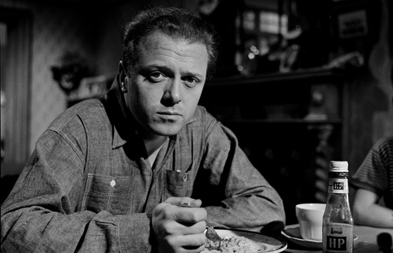 Richard Attenborough is Tom Curtis in The Angry Silence