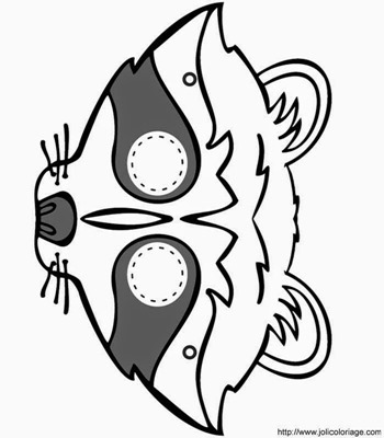 mascara de animales  para colorar (106)_thumb
