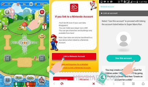 Cara Logout dan Mengganti Akun Nintendo Super Mario Run 2 Cara Logout & Mengganti Akun Nintendo Super Mario Run