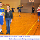 Seniors masculins contre Genlis - 1er tour Coupe de France