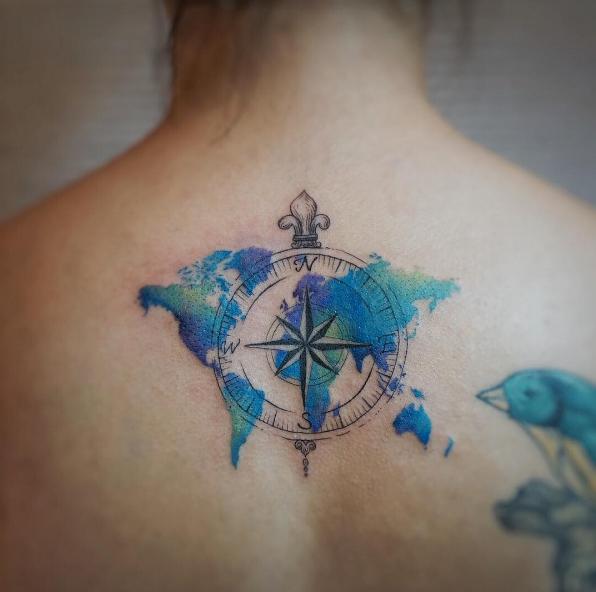 este_magnfico_aquarela_de_viagem_tatuagem