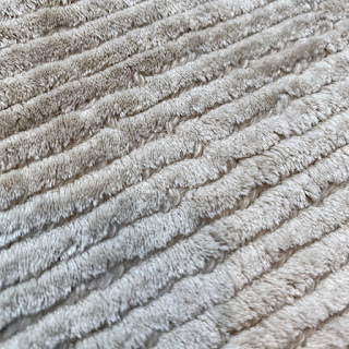 The Rug Company Large Solid Cream Area Rug