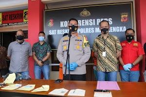Dua Pelaku Pencuri Mobil Berhasil Diamankan Sat Reskrim Polres Majalengka