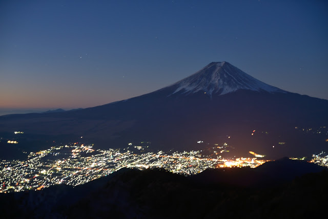 三つ峠 富士山 元旦