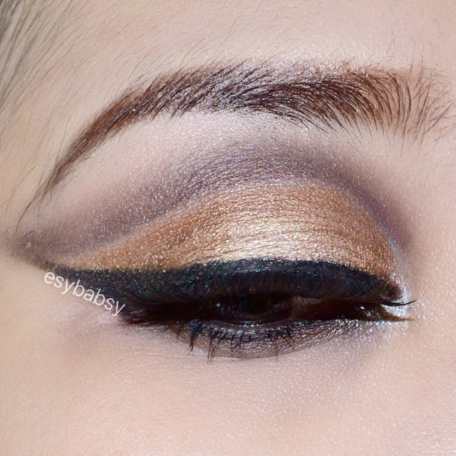 golden-cut-crease-eye-makeup-tutorial-esybabsy