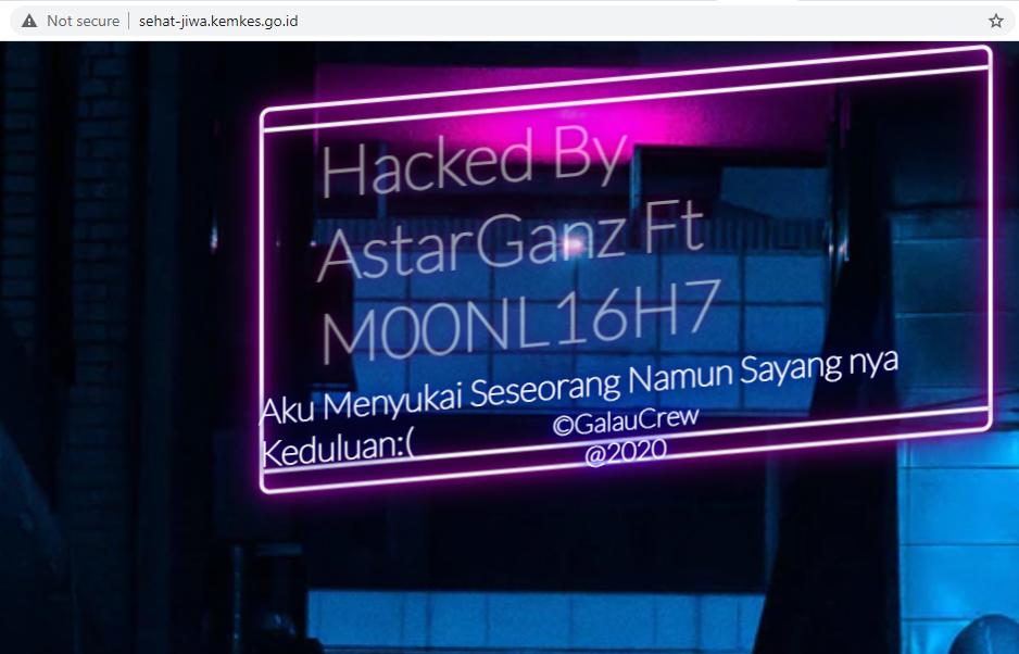 pesan hacker peretas sehat-jiwa.kemenkes.go.id