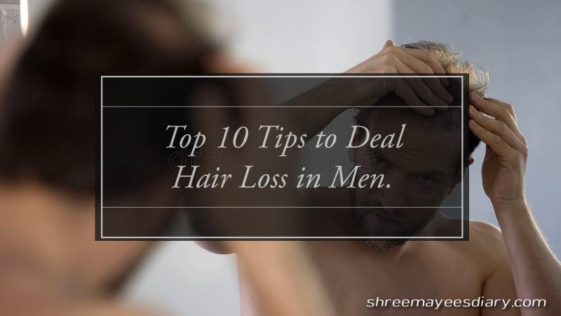Hair loss, tips, hair growth, men