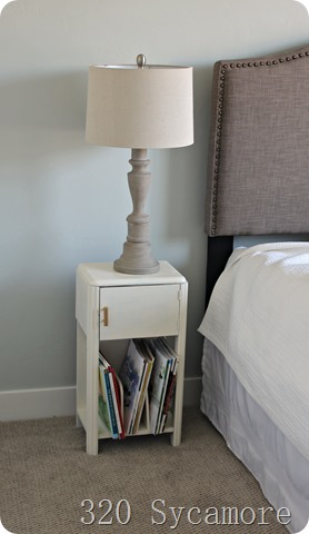 little nightstand makeover