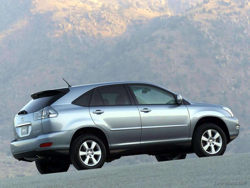 2008 lexus rx 350 suv specifications pictures prices. Black Bedroom Furniture Sets. Home Design Ideas
