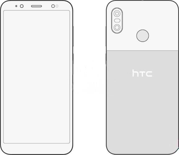 صور HTC U12 Life توضح تصميم الجوال من الأمام والخلف