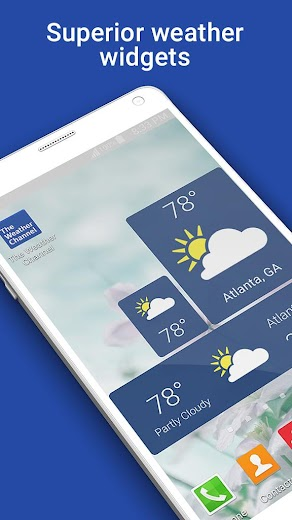 Screenshot 5 for The Weather Channel's Android app'