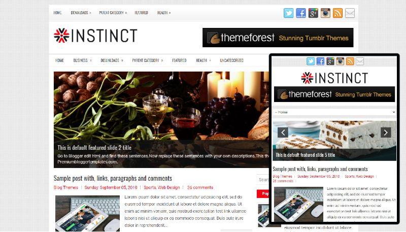 SEO optimised Ads ready free blogger theme