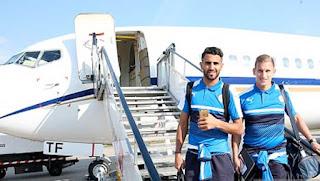 Mahrez et Slimani  défieront le FC Bruges ce soir en Ligue des Champions