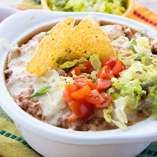 Hot Taco Dip With Cream Cheese Recipes.