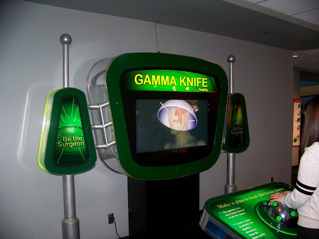 Gamma knife. A Guide to Exploring the Carnegie Science Center